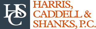 Harris, Caddell & Shanks, P.C. Header Logo
